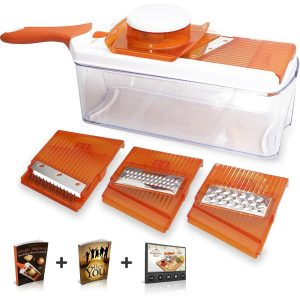 HomeNative® Adjustable Mandoline Slicer (Orange)